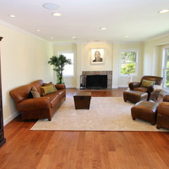 traditional family room by Stonebrook Design Build