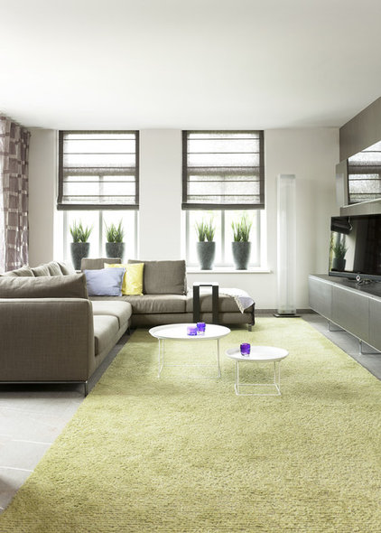 Modern Family Room by HUISSTYLING