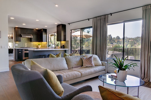 Contemporary Family Room by Shaw Coates