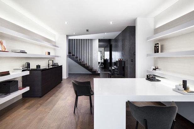 Modern Family Room by Leon House Design