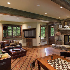 Traditional Family Room by Ryan Whitworth - The Big Guys Home Delivery Inc.