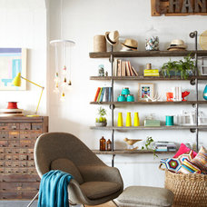 Eclectic Family Room by Urban Chandy
