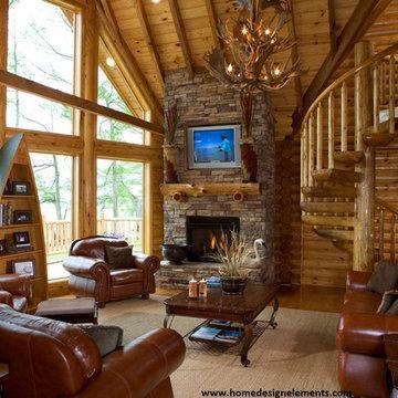 Log Home - Caldwell