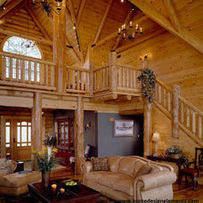 Traditional Family Room by Home Design Elements LLC