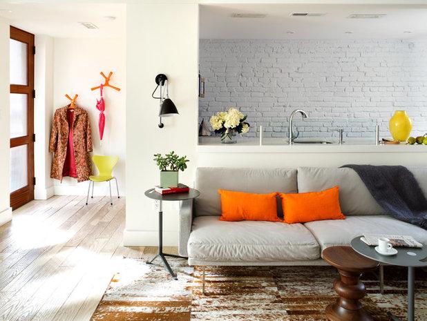 Contemporary Family Room by Design Milieu