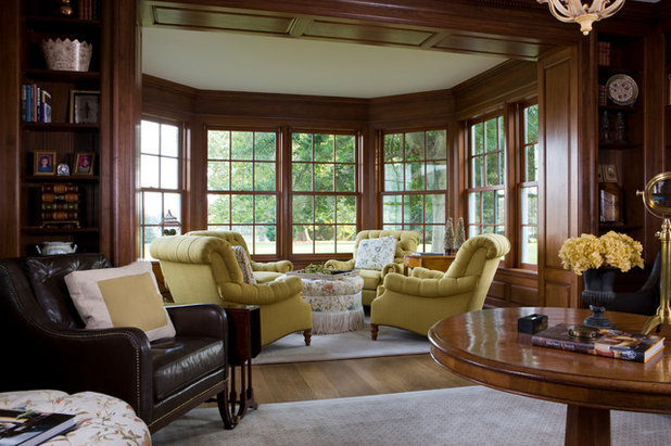 Traditional Family Room by Neumann Lewis Buchanan Architects
