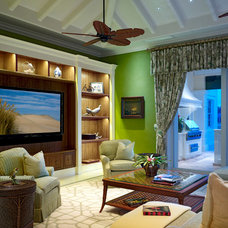 Traditional Family Room by London Bay Homes