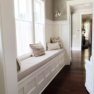 Long double welted window seat cushion