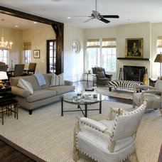 Mediterranean Family Room by The Consulting House Inc.