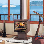 Lopi by Travis Industries - Lopi Answer Wood Stove - Heating Capacity: 750 - 1,400 sq ft