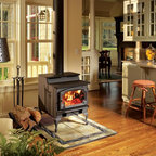 Lopi by Travis Industries - Lopi Endeavor Wood Stove - Heating Capacity: 1,200 - 2,000 sq ft