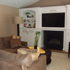 Family Room by Lisa Silverman/ Decorator Guru