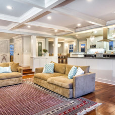 Traditional Family Room by Studio S Squared Architecture, Inc.