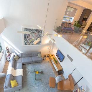Los Angeles Duplex Family Room