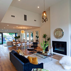 Modern Family Room by Modern Mecca™ | Los Angeles Home Staging