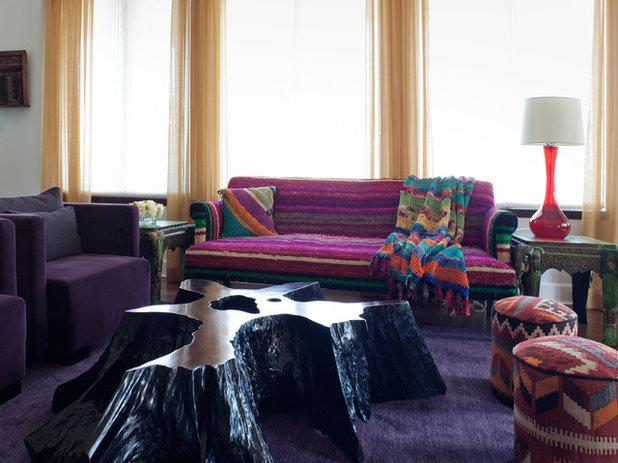 Eklektisk Alrum by Lizette Marie Interior Design