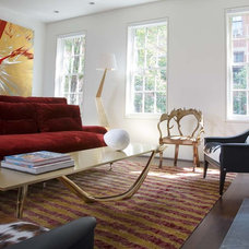 Contemporary Family Room by Axis Mundi