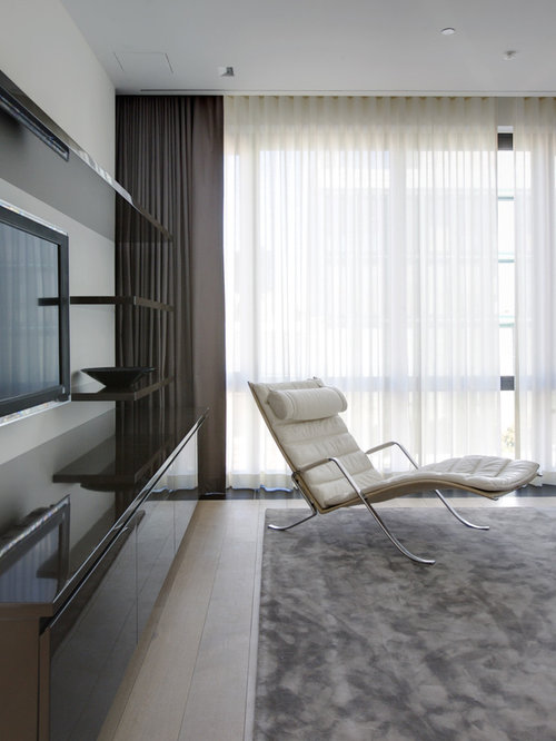 modern window treatments ideas, pictures, remodel and decor, Living room