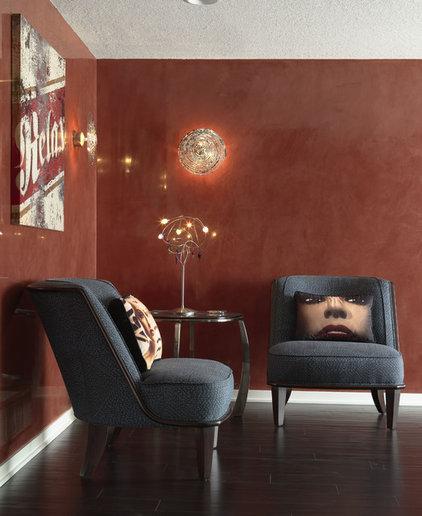 Modern Family Room by Twist Interior Design