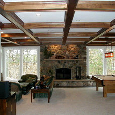 Traditional Family Room by Department of Interiors, Ltd.
