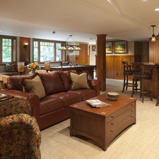 Traditional Family Room by Eminent Interior Design