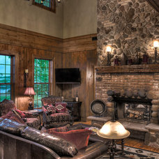 Traditional Family Room by Lands End Development - Designers & Builders