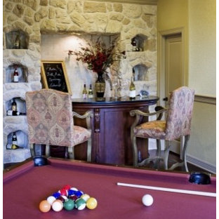 Lucca Pool Room by Sitterle Homes