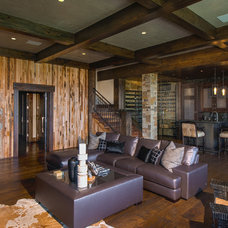 Rustic  by Martin Manley Architects