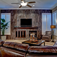 Contemporary Family Room by Room Resolutions