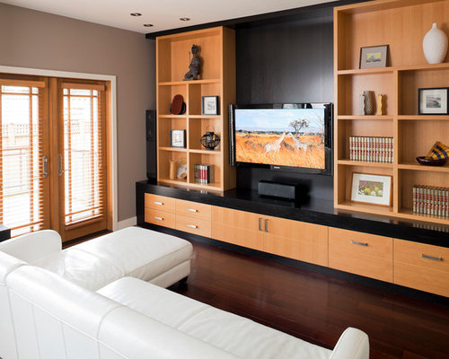 Wooden Wall Units wood wall units | houzz