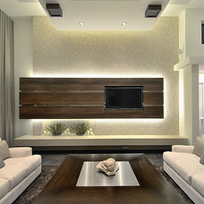 modern family room by Michael Laurenzano Photography