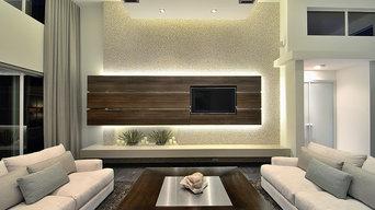 Luxury Real Estate Living Room
