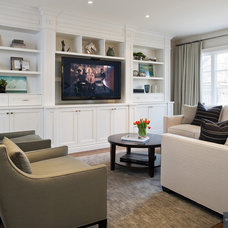 Contemporary Family Room by Robyn Clarke + Co