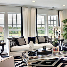 Contemporary Family Room by M/I Homes
