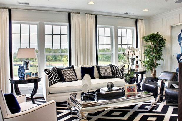 Современный Семейная комната by M/I Homes