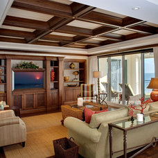 Tropical Family Room by 41 West