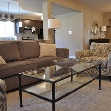 Contemporary Family Room by Maggie