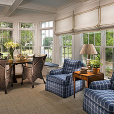 Traditional Family Room by A. Tate Hilliard, Architect/Builder
