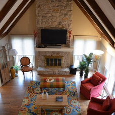 Traditional Family Room by Architectural Craftsmen