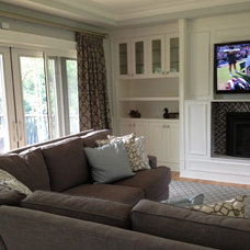 Traditional Family Room by Rebecca Mitchell Interiors & Boutique