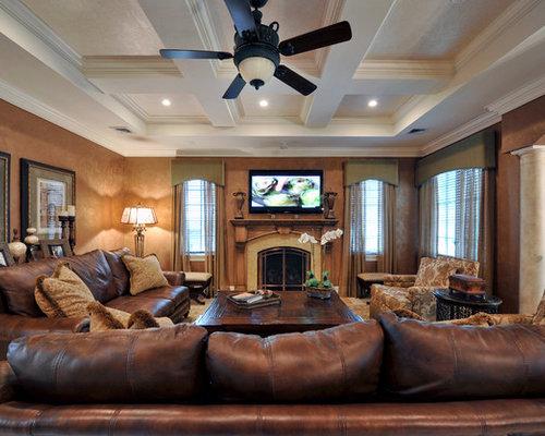 mediterrane wohnzimmer im loft style ideen f rs einrichten. Black Bedroom Furniture Sets. Home Design Ideas