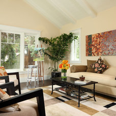 Traditional Family Room by Kathryne Designs, Inc