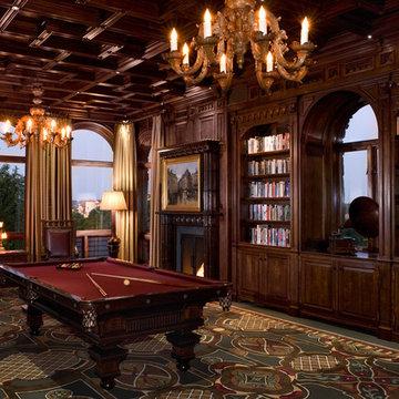 Malinard Manor - Billiards Room