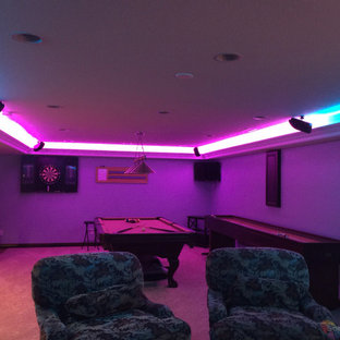 Man Cave Game Room LED Lighting