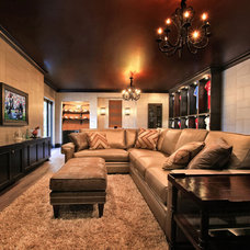Contemporary Family Room by KDS Interiors, Inc.
