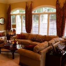 Traditional Family Room by Elegantly Appointed Homes, LLC