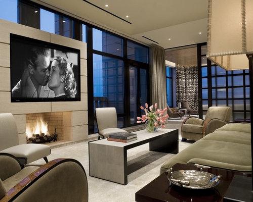 glamorous living room fireplace design ideas | Best Glamorous Living Room Design Ideas & Remodel Pictures ...
