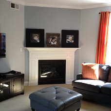 Traditional Family Room by Springlake Designs
