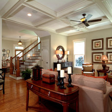 Traditional Family Room by Peek Design Group