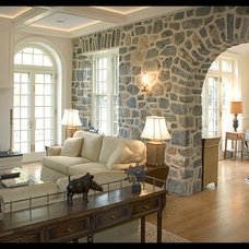 Traditional Family Room by Warren Claytor Architects, Inc.